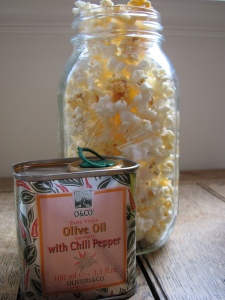 Chili Olive Oil and Salt
