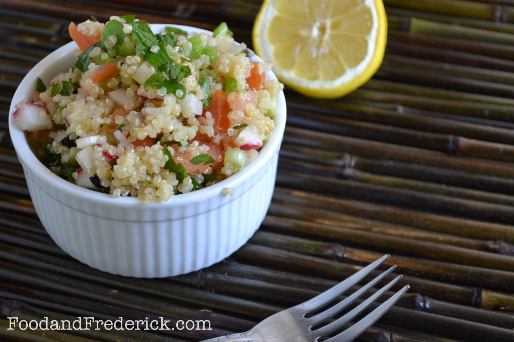 Quinoa Tabbouleh Food Matters Project